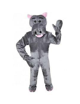 Mascotte d'hippopotame