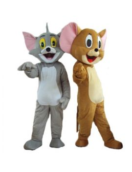Mascotte DUO TOM & JERRY